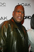 """Andre Leon Talley pictured at the cocktail party celebrating Sean """"Diddy"""" Combs appearance on the """" Black on Black """" cover of L'Uomo Vogue's October Music Issue"""