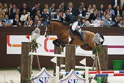 Jufer Alain (SUI) - Wiveau M<br /> Grand Prix Rolex<br /> Concours Hippique International de Genève 2014<br /> © Dirk Caremans