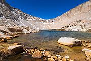 Cottonwood Lake #4 and Army Pass, John Muir Wilderness, California USA