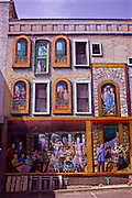 Northcentral Pennsylvania, Painted murals, city painters, downtown Williamsport, PA