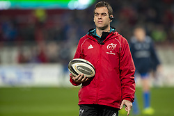 December 30, 2018 - Limerick, Ireland - Munster coach Johann van Graan pictured during the Guinness PRO14 match between Munster Rugby and Leinster Rugby at Thomond Park in Limerick, Ireland on December 29, 2018  (Credit Image: © Andrew Surma/NurPhoto via ZUMA Press)