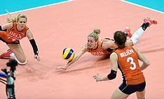 20151003 NED: Volleyball European Championship Semi Final Nederland - Turkije, Rotterdam