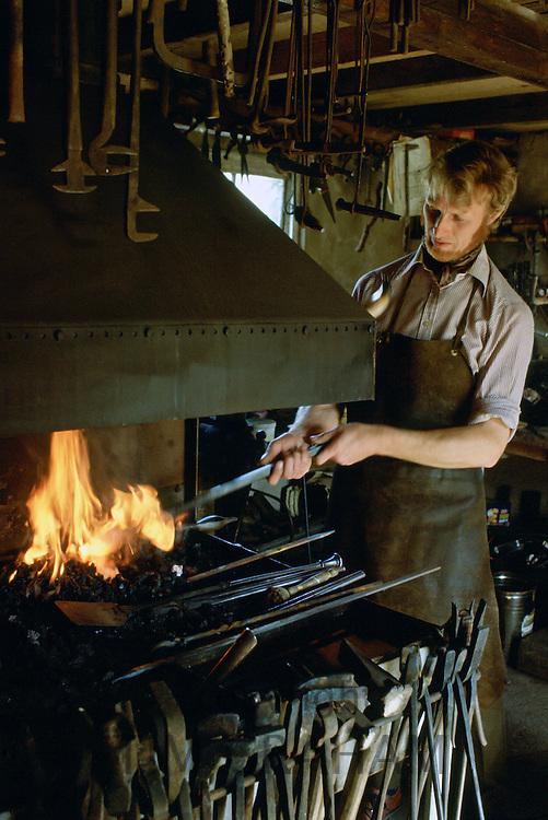 Blacksmith, Gloucester shire, England