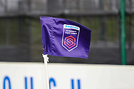 General View of the FA Women's super league corner Flag during the FA Women's Super League match between Everton Women and Bristol City Women at the Select Security Stadium, Halton, United Kingdom on 17 January 2021.