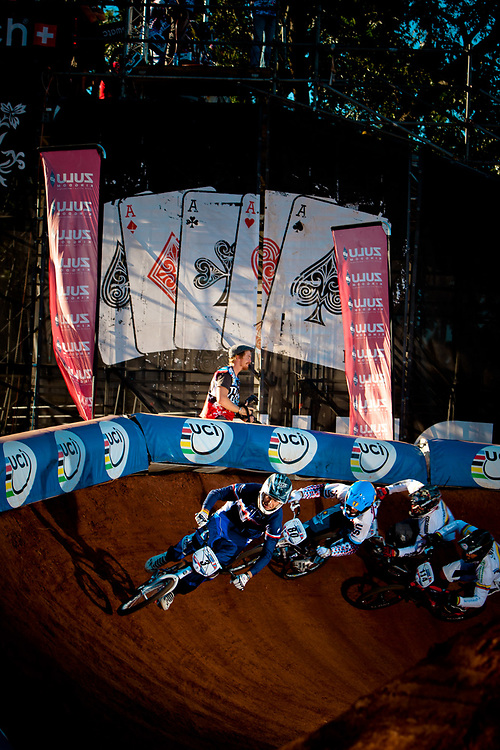 Semi Finals at the UCI BMX Supercross World Cup, Pietermaritzburg, 2011