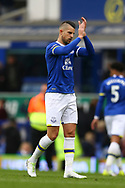 Kevin Mirallas of Everton looking dejected at the end of the game. Premier league match, Everton v Chelsea at Goodison Park in Liverpool, Merseyside on Sunday 30th April 2017.<br /> pic by Chris Stading, Andrew Orchard sports photography.