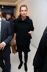 CHARLOTTE CASIRAGHI daughter of Princess Caroline of Monoco at an exhibition of paintings by artist Rene Richard at the Scream Gallery, Bruton Street, London on 3rd April 2008.<br />