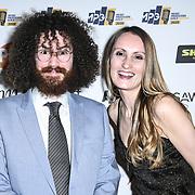 MPG inspiration award Winner represents Stormzy of urban development of The Music Producers Guild Awards at Grosvenor House, Park Lane, on 27th February 2020, London, UK.