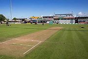 Final day of the season at Grace Rd during the Specsavers County Champ Div 2 match between Leicestershire County Cricket Club and Lancashire County Cricket Club at the Fischer County Ground, Grace Road, Leicester, United Kingdom on 26 September 2019.