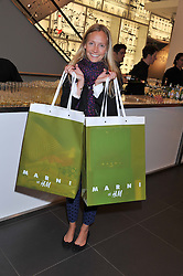 MARTHA WARD at the Launch Of The Marni For H&M Collection held at H&M Regent Street, London on 7th March 2012.