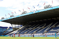 A general view of the second half action as cardboard cut-outs take the place of fans in the stands <br /> <br /> Photographer Rich Linley/CameraSport<br /> <br /> The EFL Sky Bet Championship - Sheffield Wednesday v Nottingham Forest - Saturday 20th June 2020 - Hillsborough - Sheffield <br /> <br /> World Copyright © 2020 CameraSport. All rights reserved. 43 Linden Ave. Countesthorpe. Leicester. England. LE8 5PG - Tel: +44 (0) 116 277 4147 - admin@camerasport.com - www.camerasport.com