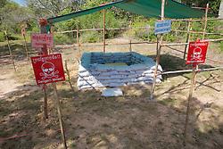 Explosives Area