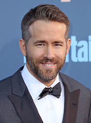 Ryan Reynolds, The 22nd Annual Critics Choice Awards at Barker Hangar (Santa Monica, CA.)