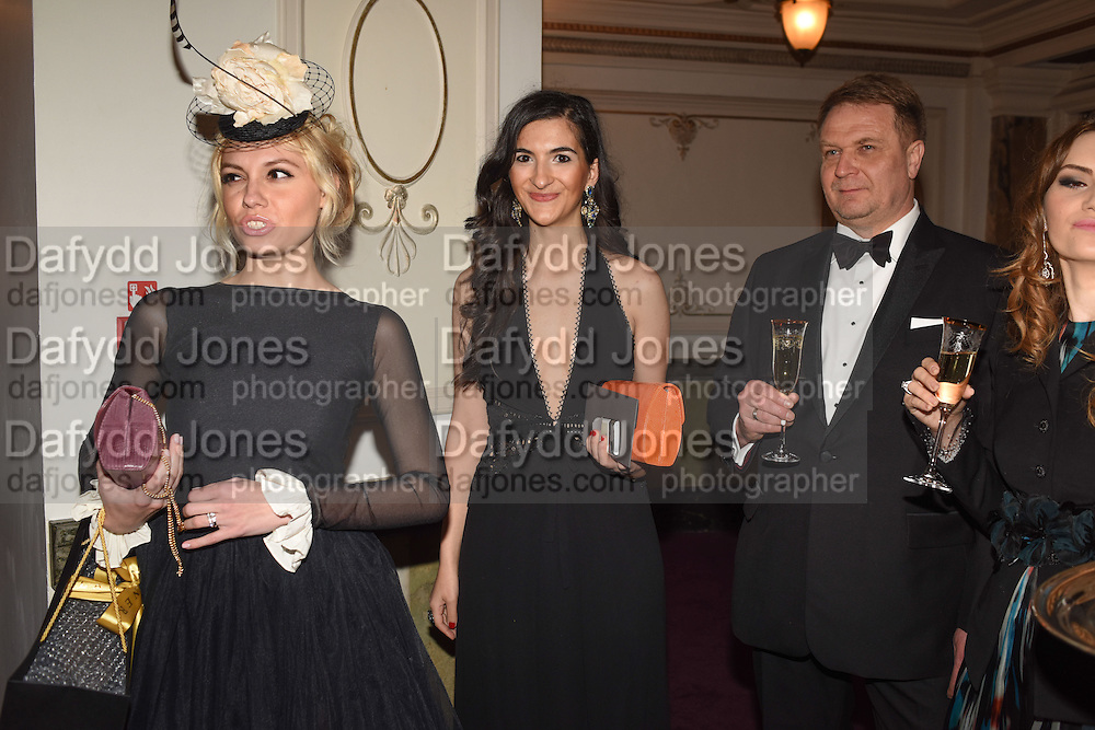 SOPHIE BOGARNE, The Backstage Gala in aid of the Naked Heart Foundation. Coliseum theatre. London. 17 April 2015