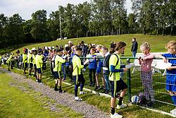 June 6, 2017 - Helsingborg, SVERIGE - 170606 Laget skriver autografer efter en trÅning med U21-landslaget i fotboll den 6 juni 2017 i Helsingborg  (Credit Image: © Ludvig Thunman/Bildbyran via ZUMA Wire)