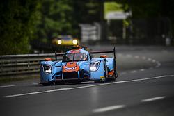 June 4, 2017 - Le Mans, France - 34 TOCKWITH MOTORSPORTS (GBR) LIGIER JSP 217 GIBSON LMP2 NIGEL MOORE (GBR) PHILIP HANSON (GBR) KARUN CHANDHOK  (Credit Image: © Panoramic via ZUMA Press)