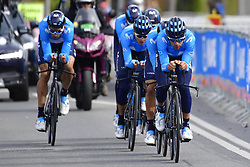September 22, 2018 - Innsbruck, Autriche - MOVISTAR TEAM in action (Credit Image: © Panoramic via ZUMA Press)