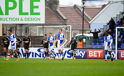 Tom Lockyer and Tony Craig of Bristol Rovers urge on their team mates after going a goal behind - Mandatory by-line: Neil Brookman/JMP - 30/03/2018 - FOOTBALL - Memorial Stadium - Bristol, England - Bristol Rovers v Bury - Sky Bet League One