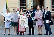 Christening of Prince Gabriel of Sweden, 01-12-2017