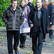 NLD/Laren/20121031 - Uitvaart Joop Stokkermans, Thijs van Aken en Daniel Staakman