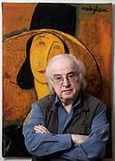 21 Noviembre. Nueva York, Estados Unidos. El escritor de origen rumano Norman Manea, en su casa en el Upper West Side de Nueva York (Foto Edu Bayer)