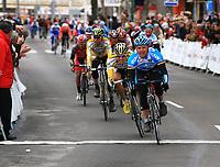 Sykkel<br /> Foto: imago/Digitalsport<br /> NORWAY ONLY<br /> <br /> 12.02.2009 <br /> Gerald Ciolek (Deutschland / Milram) gewinnt die 5. Etappe der Mallorca Challenge 2009 vor Edvald Boasson Hagen (Norwegen / Columbia Highroad