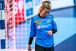 Tess Wester of Netherlands during the Women's EHF Euro 2020 match between Netherlands and Germany at Sydbank Arena on december 14, 2020 in Kolding, Denmark (Photo by RHF Agency/Ronald Hoogendoorn)