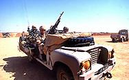 Gulf War One:  UK Forces. deploed to Saudi Arabia <br /><br />Photograph ny Dennis Brack. bb78
