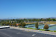 Aerial View of the Athletic Fields at California State University Fullerton