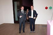 ED VAIZEY; MATTHEW SLOTOVER, Damien Hirst, Tate Modern: dinner. 2 April 2012.