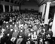 01/01/1970.1st January 1970 .Aer Lingus Young Scientist of the Year Exhibition at the RDS..Crowd at the annual Young Scientist Exhibition