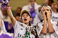 Real Madrid supporters during the UEFA Champions League Final match between Real Madrid and Juventus at the National Stadium of Wales, Cardiff, Wales on 3 June 2017. Photo by Giuseppe Maffia.<br /> <br /> Giuseppe Maffia/UK Sports Pics Ltd/Alterphotos