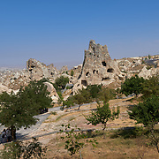 Goreme Open Air Museum cave churches, Cappadocia, Turkey