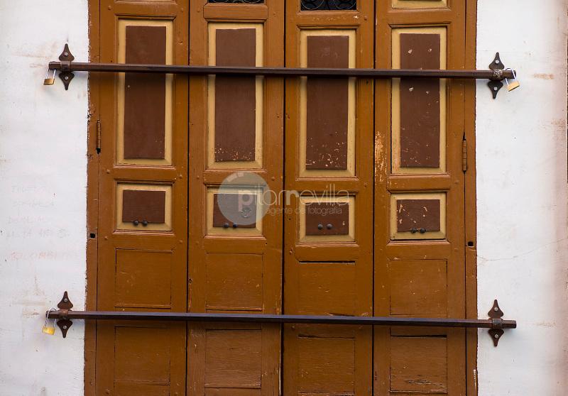 Detalle de una casa en Toledo. Toledo. España. ©ANTONIO REAL HURTADO / PILAR REVILLA