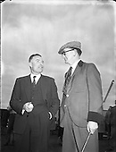 1955 – 26/03 Golf at Royal Dublin Golf Club, Dollymount