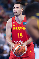 Spain's Fernando San Emeterio during friendly match for the preparation for Eurobasket 2017 between Spain and Venezuela at Madrid Arena in Madrid, Spain August 15, 2017. (ALTERPHOTOS/Borja B.Hojas)