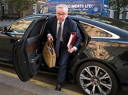 © Licensed to London News Pictures. 22/09/2020. London, UK. Chancellor of the Duchy of Lancaster MICHAEL GOVE is seen arriving at Cabinet Office in Westminster. The UK government is preparing for a possible second nationwide lockdown to fight the spread of COVID-19. Photo credit: Ben Cawthra/LNP