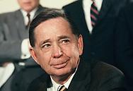 Carl Albert, Speaker of the House of Representatives in  July 1970<br />photo by Dennis Brack bb 72