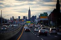 New York City Skyline, Empire State Building.<br /> <br /> <br /> Photo by Robert Caplin