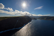 Halawa Valley, North Shore, Molokai, Hawaii
