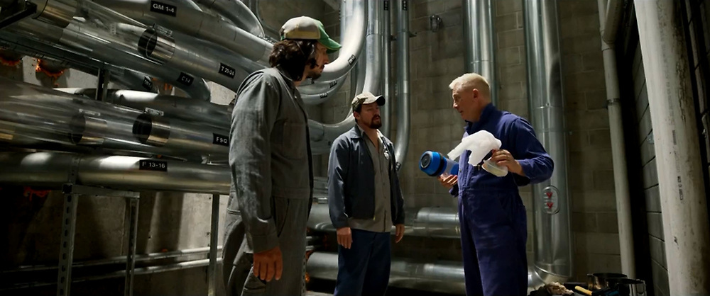 RELEASE DATE: August 18, 2017 TITLE: Logan Lucky STUDIO: Trans-Radial Pictures DIRECTOR: Steven Soderbergh PLOT: Two brothers attempt to pull off a heist during a NASCAR race in North Carolina. STARRING: CHANNING TATUM stars as Jimmy Logan, ADAM DRIVER as Clyde Logan, DANIEL CRAIG as Joe Bang. (Credit Image: © Trans-Radial Pictures/Entertainment Pictures/ZUMAPRESS.com)