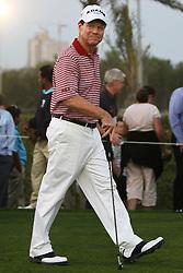 Tom Watson  in Dubai.  Photo by: Stephen Lock/i-Images