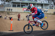 #129 (SMITH Jessie) NZL at Round 3 of the 2020 UCI BMX Supercross World Cup in Bathurst, Australia.