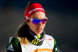 January 31, 2018 - Goms, SWITZERLAND - 180131 Pia Fink of Germany after the women's 10km classic technique interval start during the FIS U23 Cross-Country World Ski Championships on January 31, 2018 in Obergoms..Photo: Vegard Wivestad GrÂ¿tt / BILDBYRN / kod VG / 170090 (Credit Image: © Vegard Wivestad Gr¯Tt/Bildbyran via ZUMA Press)