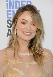 Olivia Wilde at the 35th Annual Film Independent Spirit Awards held at the Santa Monica Beach in Santa Monica, USA on February 8, 2020.