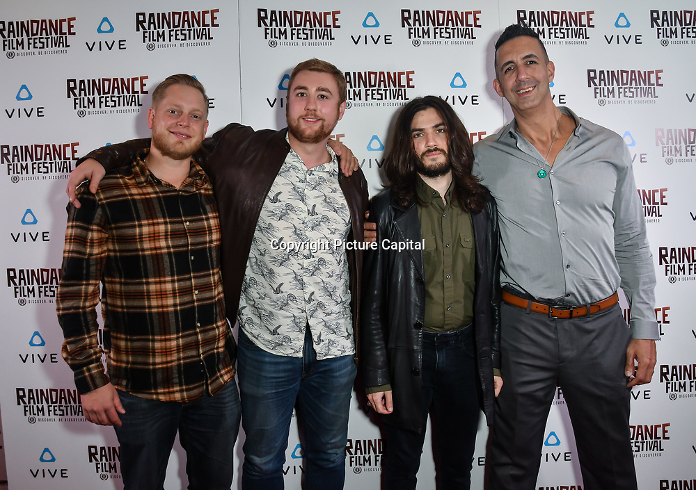 Nothing Like You Production's - The Archivist:VR Nominated attends the Raindance Film Festival - VR Awards, London, UK. 6 October 2018.