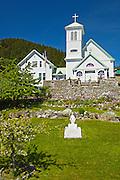 Southeast Alaska.  Wrangell, St. Rose of Lima catholic church