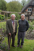 SIR MICHAEL HOWARD; MARK JAMES, ,Berkshire. 28 April 2017