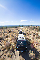 Van camping. Decend on Bend. Central Oregon.