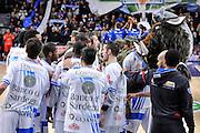 DESCRIZIONE : Campionato 2014/15 Serie A Beko Dinamo Banco di Sardegna Sassari - Acqua Vitasnella Cantu'<br /> GIOCATORE : Dinamo Banco di Sardegna Sassari Team<br /> CATEGORIA : Before Pregame Fair Play<br /> SQUADRA : Dinamo Banco di Sardegna Sassari<br /> EVENTO : LegaBasket Serie A Beko 2014/2015<br /> GARA : Dinamo Banco di Sardegna Sassari - Acqua Vitasnella Cantu'<br /> DATA : 28/02/2015<br /> SPORT : Pallacanestro <br /> AUTORE : Agenzia Ciamillo-Castoria/L.Canu<br /> Galleria : LegaBasket Serie A Beko 2014/2015